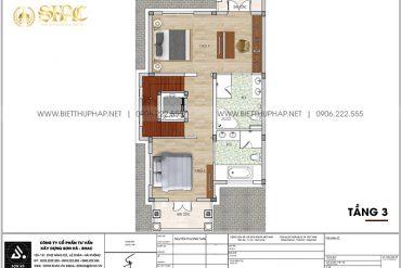 21 Bản vẽ tầng 3 cải tạo nội thất biệt thự tân cổ điển tại quảng ninh