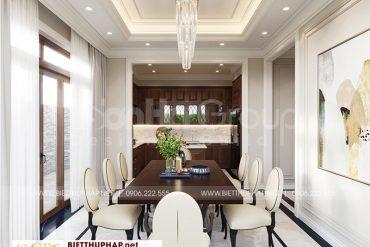 3 Thiết kế nội thất phòng ăn sang trọng tại quảng ninh