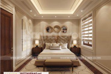 5 Không gian nội thất phòng ngủ master biệt thự tân cổ điển tại quảng ninh