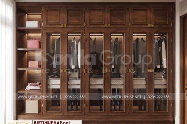 6 Trang trí nội thất thay đồ phòng ngủ master cao cấp tại quảng ninh
