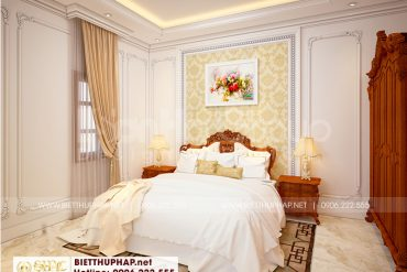 7 Mẫu nội thất phòng ngủ 1 kiểu tân cổ điển tại an giang sh btcd 0064