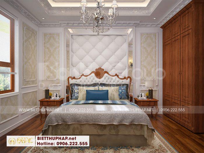 Cách bố trí không gian phòng ngủ ấn tượng với nội thất chất liệu gỗ tự nhiên