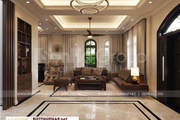 1 Thiết kế nội thất phòng khách cao cấp tại vinhomes imperia hải phòng
