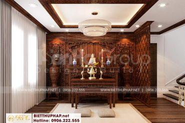 10 Bố trí nội thất phòng thờ tôn nghiêm tại khu đô thị vinhomes imperia hải phòng