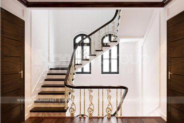 11 Thiết kế nội thất sảnh thang biệt thự tân cổ điển tại khu đô thị vinhomes imperia hải phòng