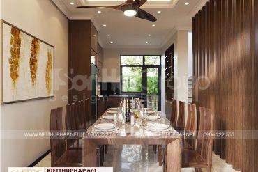4 Trang trí nội thất phòng bếp ăn kiểu tân cổ điển tại vinhomes imperia hải phòng