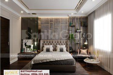 4 Trang trí nội thất phòng ngủ 1 kiểu tân cổ điển tại khu đô thị vinhomes imperia hải phòng