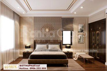 6 Thiết kế nội thất phòng ngủ 2 cao cấp tại khu đô thị vinhomes imperia hải phòng