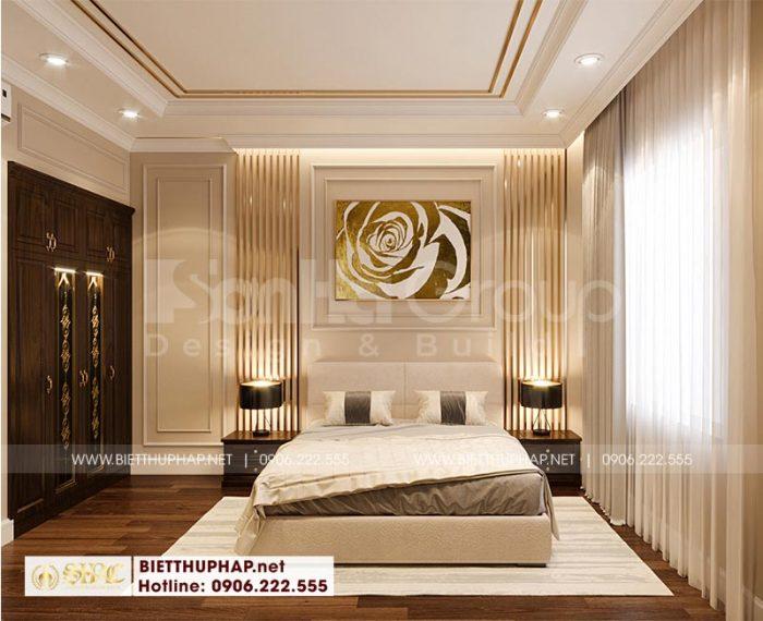 Toàn cảnh nội thất phòng ngủ tân cổ điển đẹp, ấm cúng khiến chủ đầu tư đánh giá rất cao