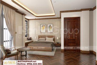 9 Trang trí nội thất phòng ngủ ông bà cao cấp tại vinhomes imperia hải phòng