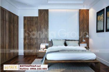 4 Trang trí nội thất phòng ngủ 1 sang trọng tại vinhomes marina