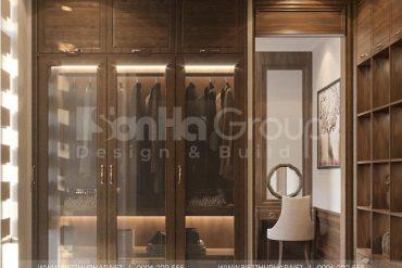6 Thiết kế nội thất phòng thay đồ quý phái tại vinhomes marina
